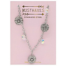 E 0030A Stainless steel kinderketting