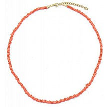 AF 0167 Necklace with Glass Beads