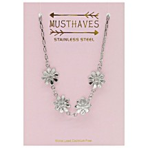 E 0026A Stainless steel kinderketting