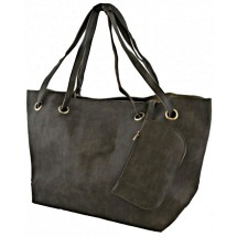 A 0148 PU lederen shopper
