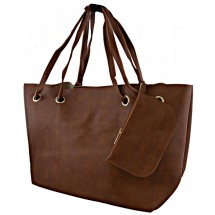 A 0008 PU lederen shopper