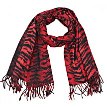 S 0049 Soft Scarf Animal