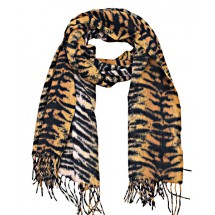 S 0048 Soft Scarf Animal