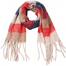 S 0007 Soft Scarf/Checkered