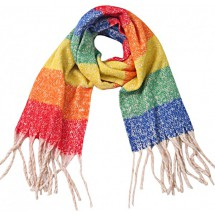 S 0010 Soft Scarf/Checkered