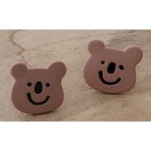 AB 0090 Earrings Bear