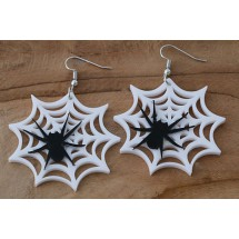 AB 0098 Earrings Gothic Spider