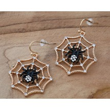 AB 0096 Earrings Gothic Spider