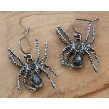 AB 0097 Earrings Gothic Spider